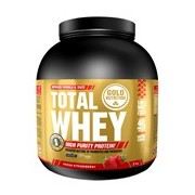 Total Whey proteína sabor morango 2kg - Gold Nutrition