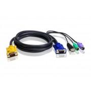 Cavo KVM PS2-USB 1,8m, 2L-5302UP