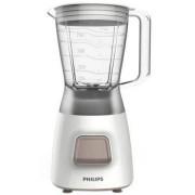 Blender HR2052/00, 350 W, 1.25 l, 1 viteza, functie impuls, alb
