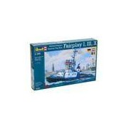 Kit De Montar Revell 1:144 Harbour Tug Boat Fairplay I, Iii, X