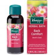 Kneipp Aceite de baño Back Comfort con garra del diablo (harpagófito) de (100 ml)