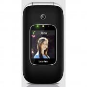 beafon SL590 Senior preklopni telefon Stanica za punjenje, SOS ključ Crna/srebrna