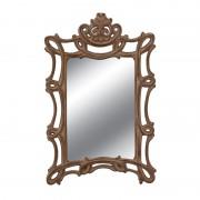 Oglinda decorativa dreptunghiulara cu rama cu model sculptat Trimar Stencil
