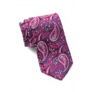 Ted Baker London Tonal Paisley Silk Tie PINK