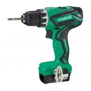 Hitachi Trapano Avvitatore 10,8v Ds10dal Con 2 Batterie Litio 1,5 Ah 54 Accessori In Valigetta