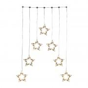 Xenos LED sterren slinger - 118 cm