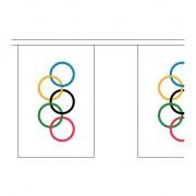 Merkloos Olympische spelen slingers