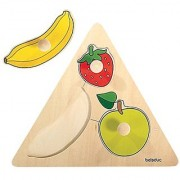 beleduc Fruits Triangle Puzzle (3 Piece)