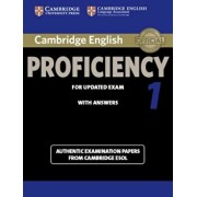 Cambridge English Proficiency 1 for Updated Exam Student's Book with Answers: Authentic Examination Papers from Cambridge ESOL, Paperback/Cambridge ESOL