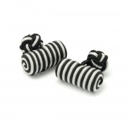 manșetă butoni (model 15) 7253 în gri-negru culoare