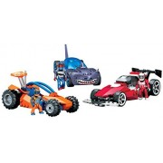 Mega Bloks Hot Wheels Building Block Toy Car Super Vehicle Set Sharkbite Max Scatter T Blast