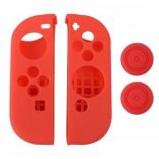 Nintendo Switch Funda Silicona JoyCon - Rojo