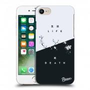 Átlátszó szilikon tok az alábbi mobiltelefonokra Apple iPhone 7 - Life - Death