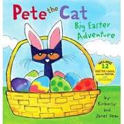 Pete the Cat: Big Easter Adventure 'With 12 Easter Cards and Poster', Hardcover/James Dean