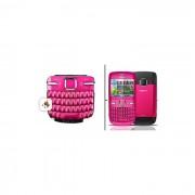 Teclado Nokia C3-00 QWERTY Rosa Original