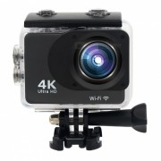 Mini 30m impermeable 4K Full HD Wi-Fi Deportes Camara - Negro