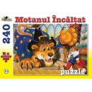 Puzzle Motanul Incaltat - Colectia Povesti, 240 piese