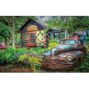 Puzzle SunsOut - Celebrate Life Gallery - Part of the Garden, 550 piese (Sunsout-37316)