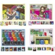 Joc magnetic Mediu si reciclare - Miniland