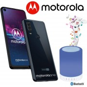Celular Motorola Moto One Action 128GB 4GB Ram + bocina - Azul