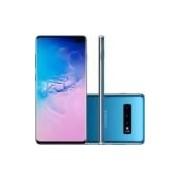 Smartphone Samsung Galaxy S10+, 128GB, 16MP, Tela 6.4´, Azul - SM-G975F/1DL