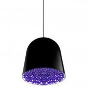 Flos Can can hanglamp zwart decoratie violet