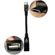 Cablu OTG Micro USB la USB mama