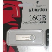 Kingston DataTraveler SE9 16 GB Pen Drive(Silver)