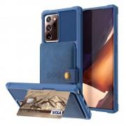 Mobiltillbehör Multi-Slot Skal Galaxy Note 20 Ultra Blå