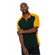 Tricou Gamegear Rugby XXL Verde Inchis/Gold