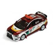 MITSUBISHI LANCER Evo X Nº00 H.Miyoshi-S.Hayashi Rally Japan Safety Car 2008
