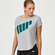 Myprotein Scoop Logo T-Shirt - S - Grey