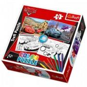 Trefl Color Puzzle 2 az 1-ben színezhető puzzle - Verdák