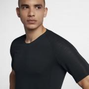 Haut de footballà manches courtes Nike VaporKnit Strike pour Homme - Noir