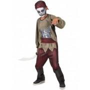 Vegaoo Zombie-Piratenkostüm für Jungs