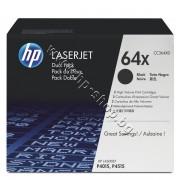 Тонер HP 64X за P4015/P4515 2-pack (2x24K), p/n CC364XD - Оригинален HP консуматив - к-т 2 тонер касети