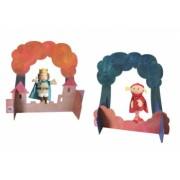 Scena mica pentru teatru de papusi Egmont Toys