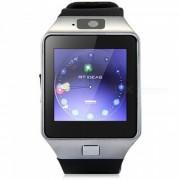 """KICCY 1.4"""" Bluetooth Smart reloj de muneca saludable - plata + negro"""