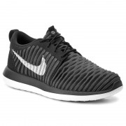 Pantofi NIKE - Roshe Two Flyknit (GS) 844619 001 Black/White/Anthracite/Drk Gry