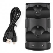 Dual Charging Dock voor de PS3 en Move Controller