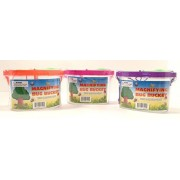 Set of 3 Bug Explorer Magnifying Bug Buckets! 3 Different Colors! Educate and Explore! Perfect Gift for any Girl or Boy!