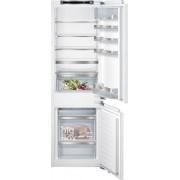 Siemens iQ500 KI86SAF30G Static Integrated Fridge Freezer - White