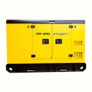 Generator insonorizat Stager YDY40S3, silent, diesel, trifazat
