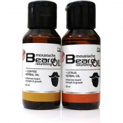 Combo Pack of Coffee Herbal and Citrus Herbal Beard Oil