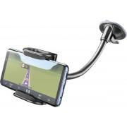 Cellularline PILOTFLEXIK houder Mobiele telefoon/Smartphone Zwart, Grijs Passieve houder