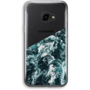 Samsung Galaxy XCover 4 Transparant Hoesje (Soft) - Zee golf