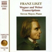 F Liszt - Wagner & Weber Transcript (0747313056279) (1 CD)