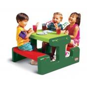 Маса за пикник Little Tikes, зелена