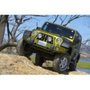 ARB DeLuxe Bull Bar Bumper in Black pt. 07-14 Jeep Wrangler & Wrangler Unlimited JK