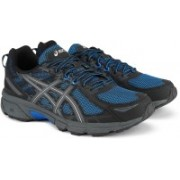 Asics GEL-VENTURE 6 Running Shoes For Men(Black, Blue)